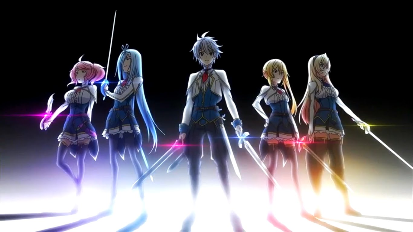 HD Quality Wallpaper | Collection: Anime, 1366x768 Undefeated Bahamut Chronicle