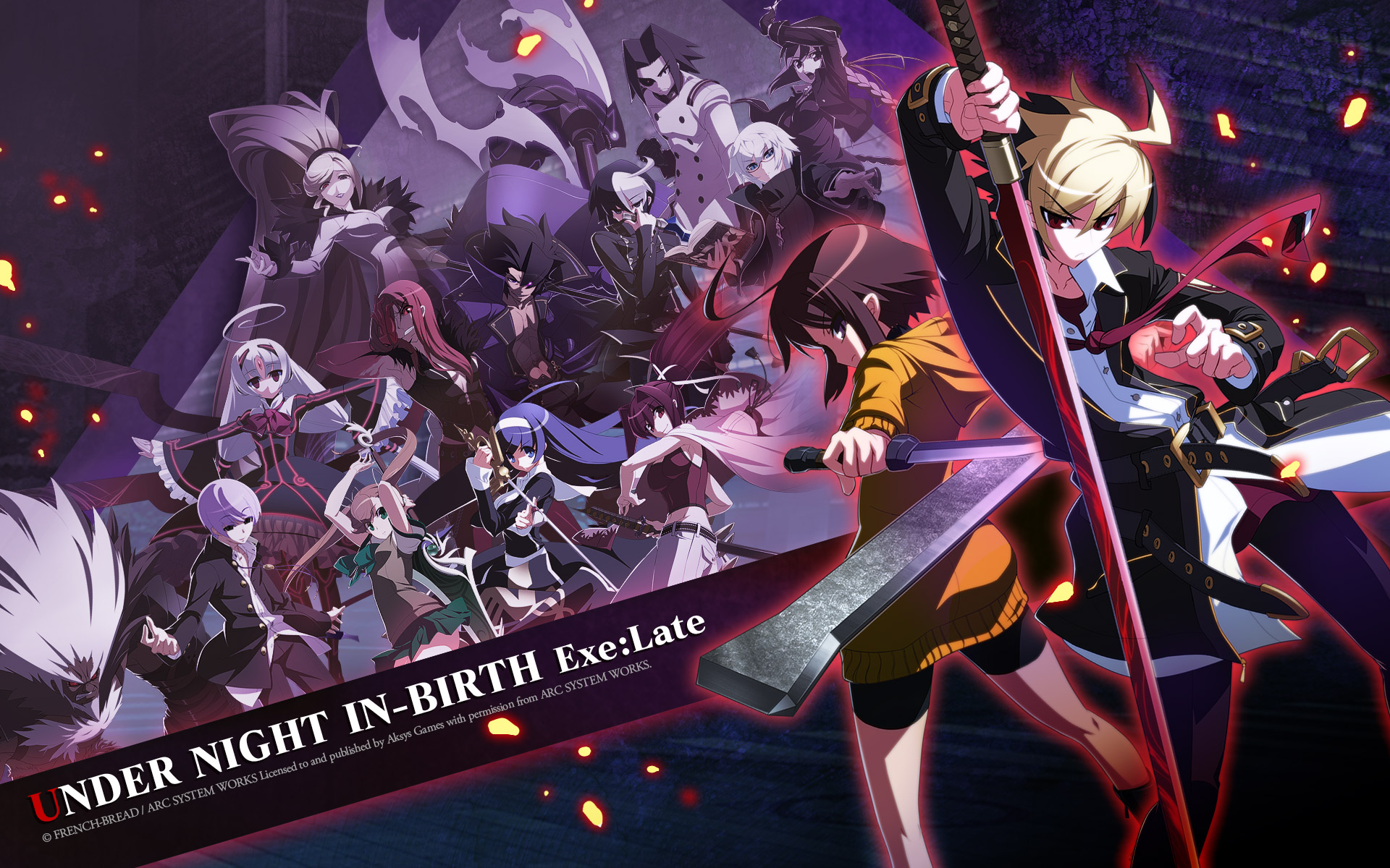 Under Night In-birth High Quality Background on Wallpapers Vista