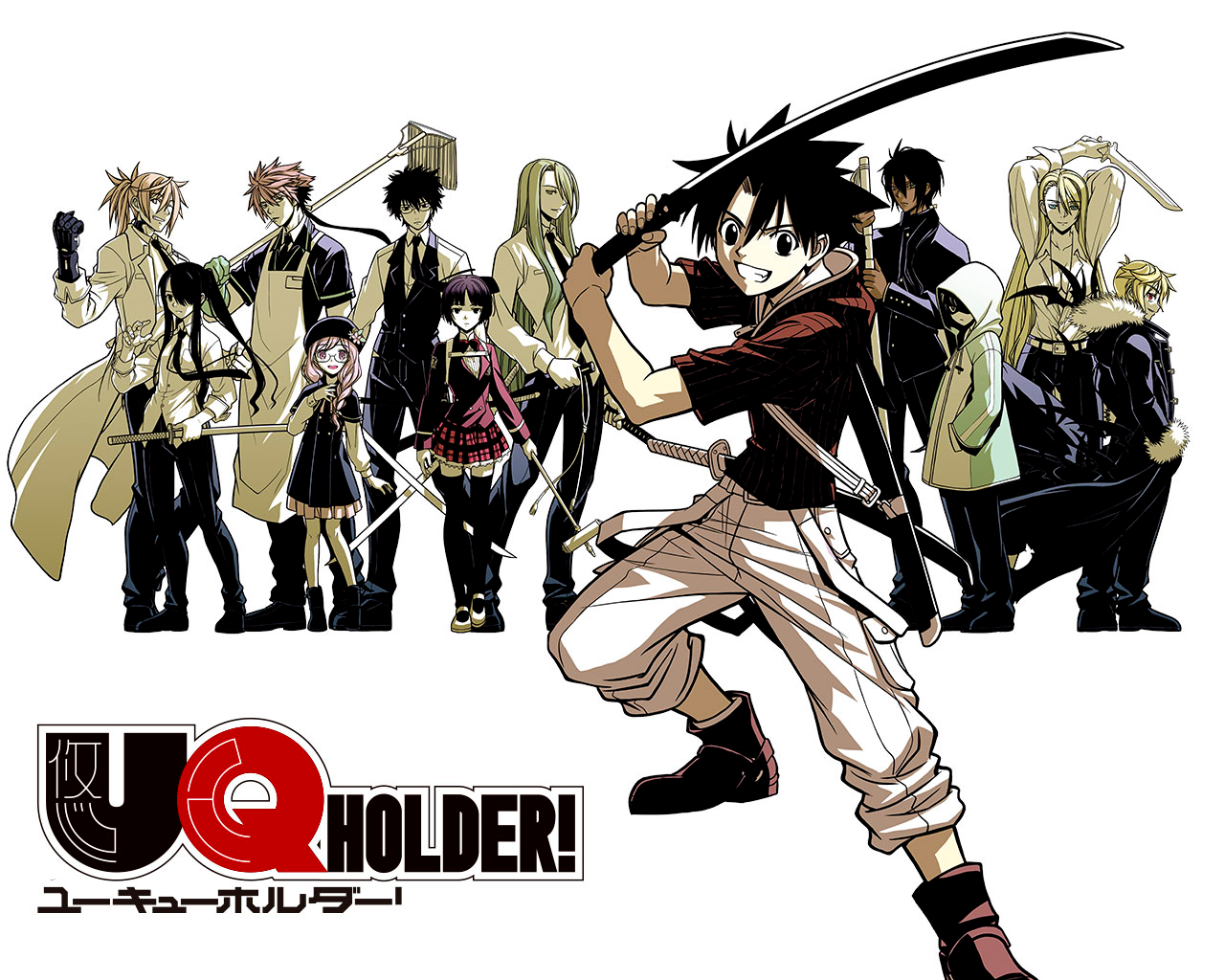 UQ Holder! High Quality Background on Wallpapers Vista