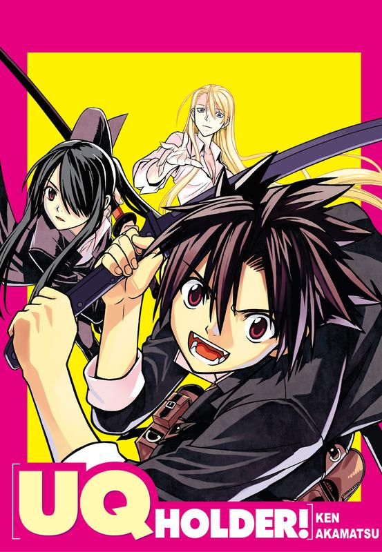 Amazing UQ Holder! Pictures & Backgrounds