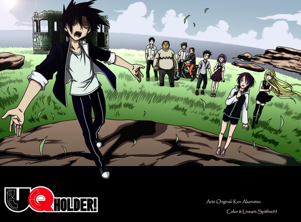 UQ Holder! Pics, Anime Collection