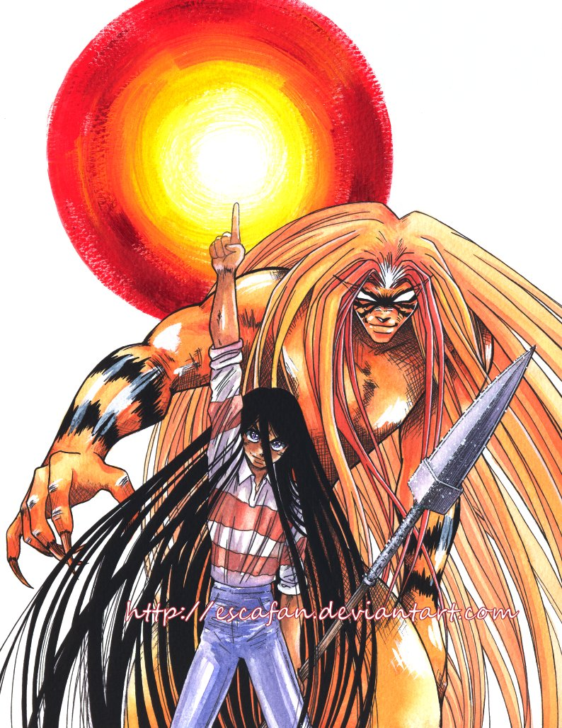 Nice Images Collection: Ushio & Tora Desktop Wallpapers