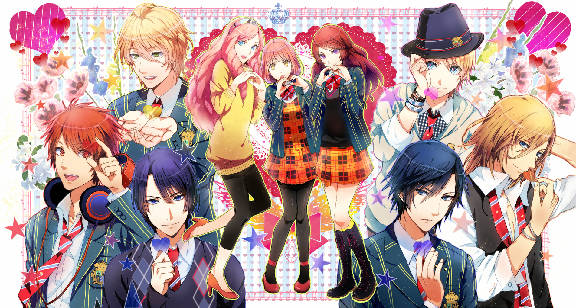 Uta No Prince-sama Pics, Anime Collection