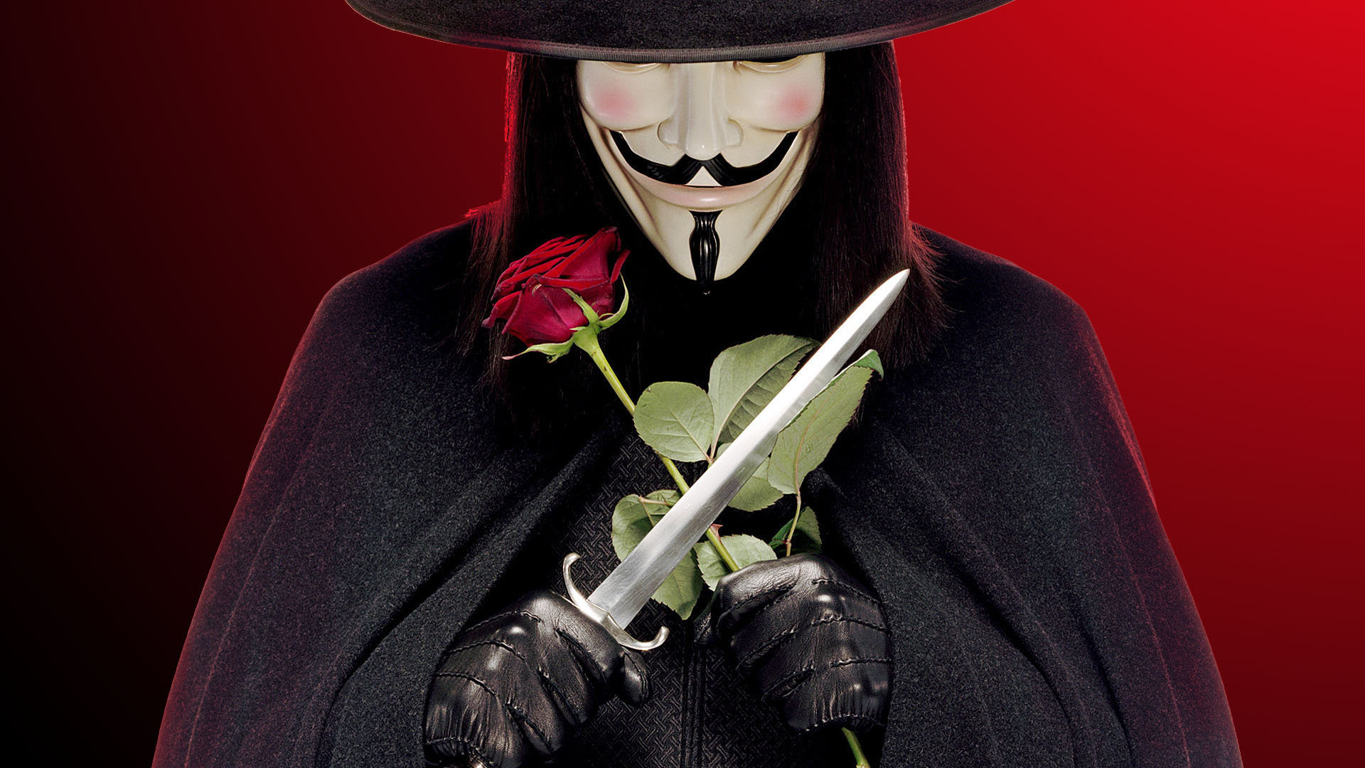 V For Vendetta Backgrounds, Compatible - PC, Mobile, Gadgets| 1920x1080 px