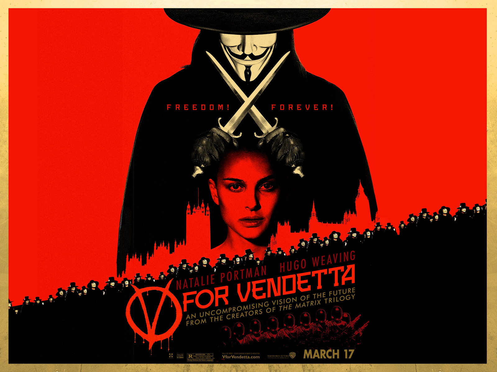 HD Quality Wallpaper | Collection: Movie, 1600x1200 V For Vendetta