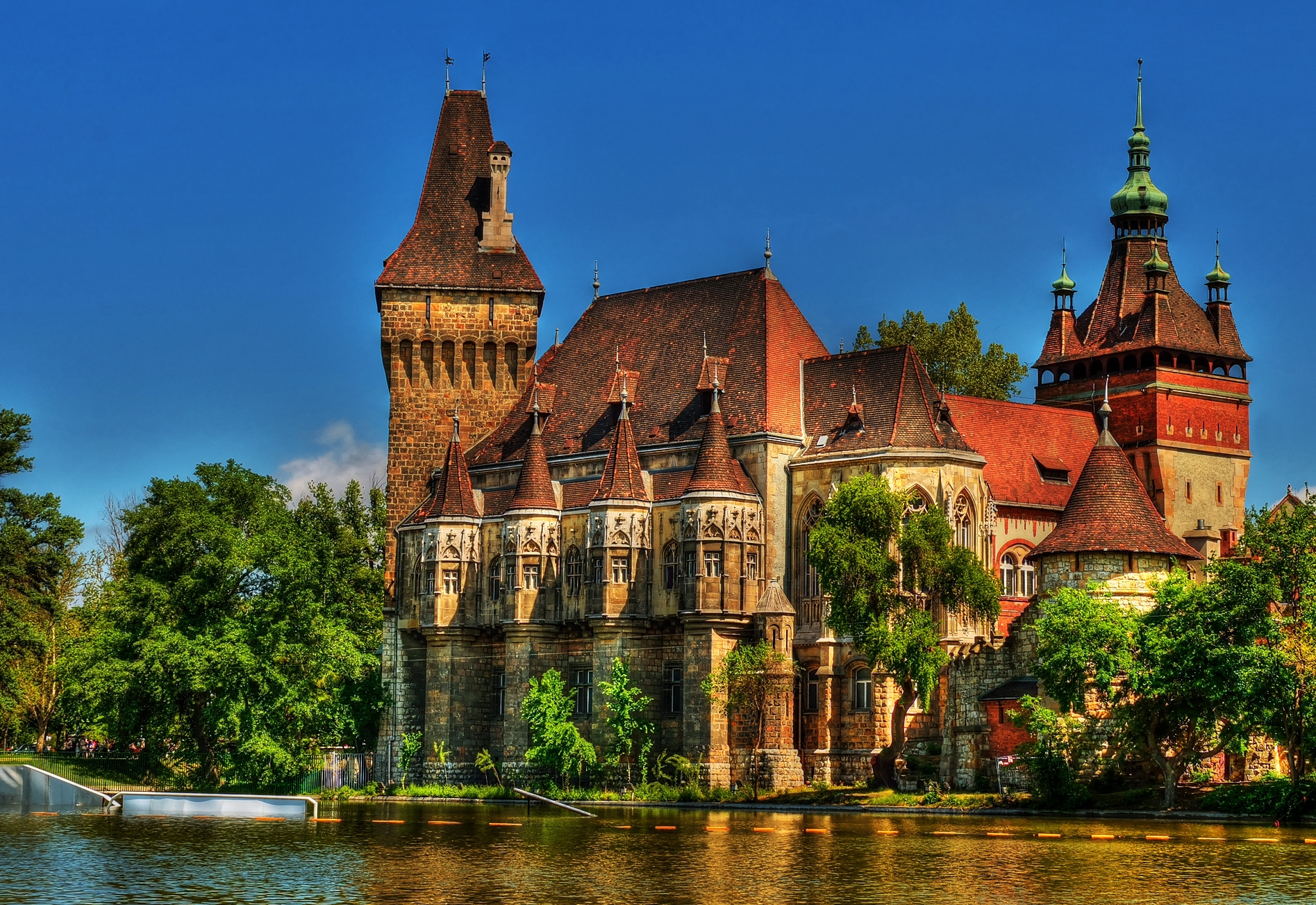 Vajdahunyad Castle High Quality Background on Wallpapers Vista