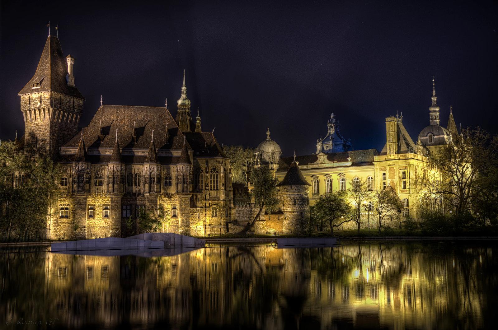 Vajdahunyad Castle Backgrounds, Compatible - PC, Mobile, Gadgets  1600x1061 px