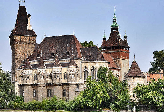 Nice Images Collection: Vajdahunyad Castle Desktop Wallpapers