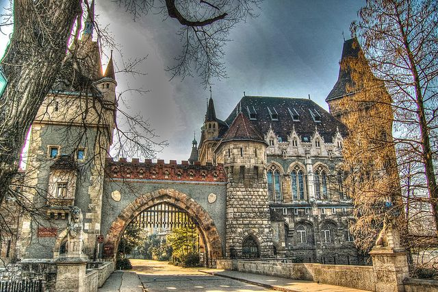 Amazing Vajdahunyad Castle Pictures & Backgrounds