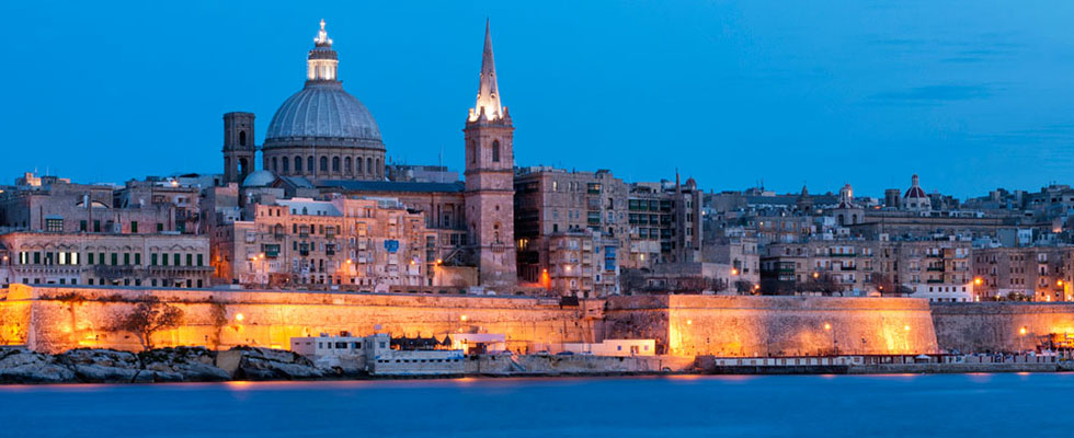HD Quality Wallpaper | Collection: Man Made, 980x400 Valletta