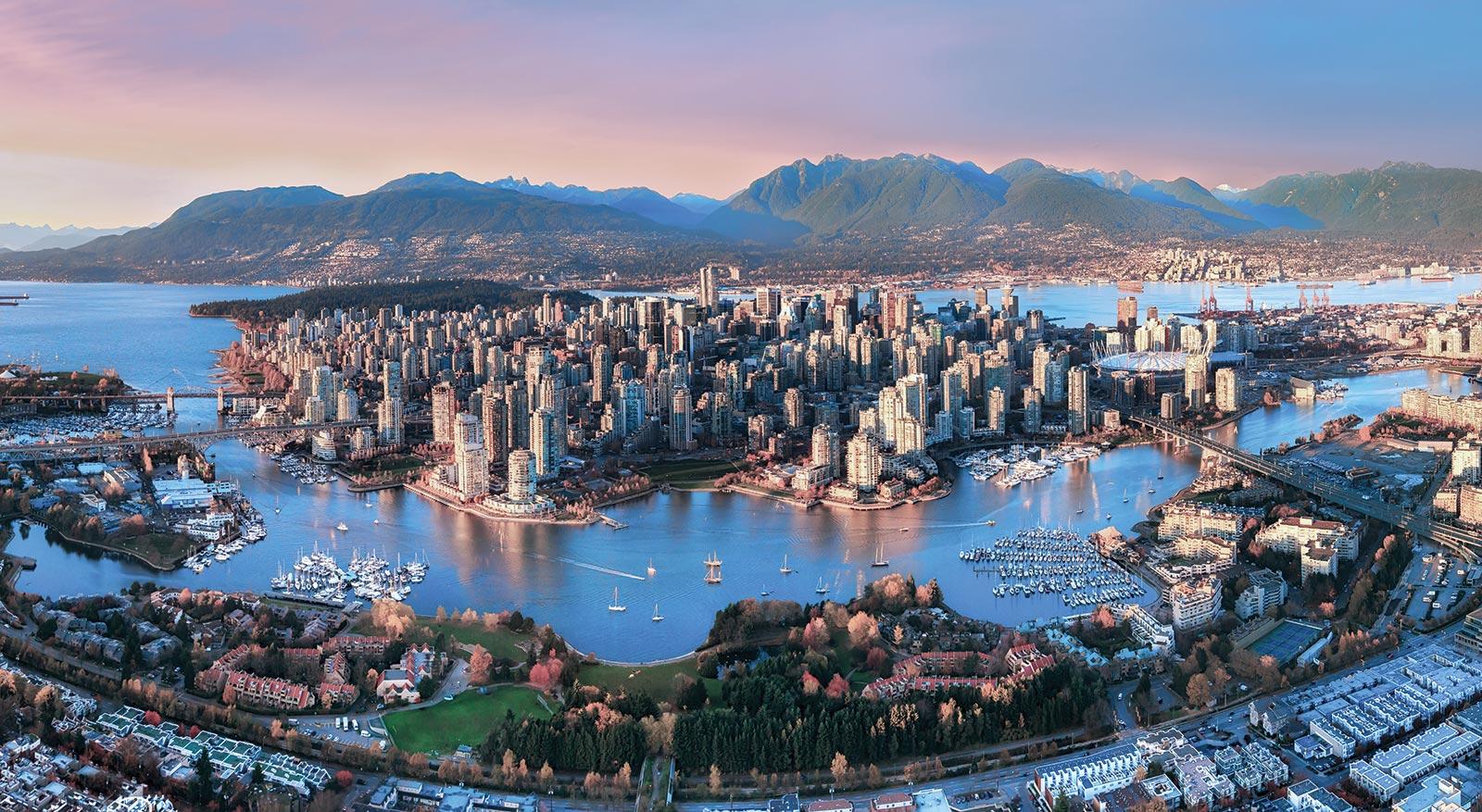 Vancouver Backgrounds, Compatible - PC, Mobile, Gadgets| 1600x877 px