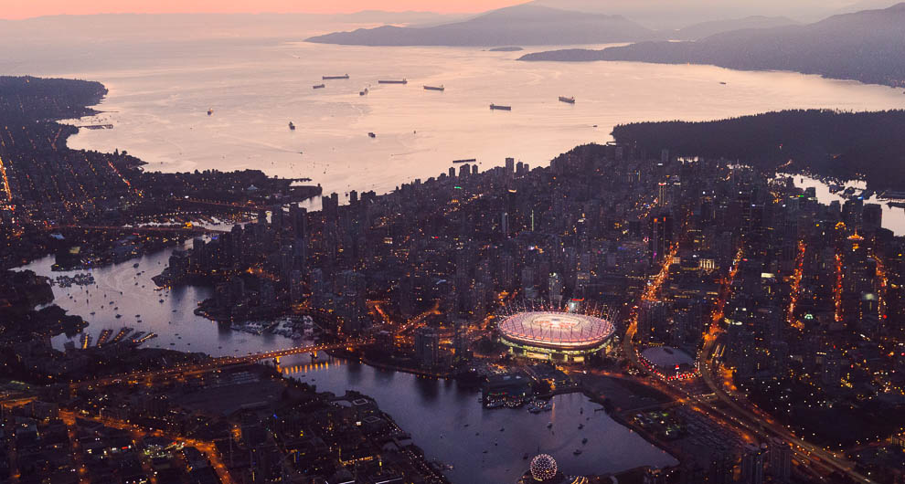 HD Quality Wallpaper | Collection: Man Made, 990x530 Vancouver