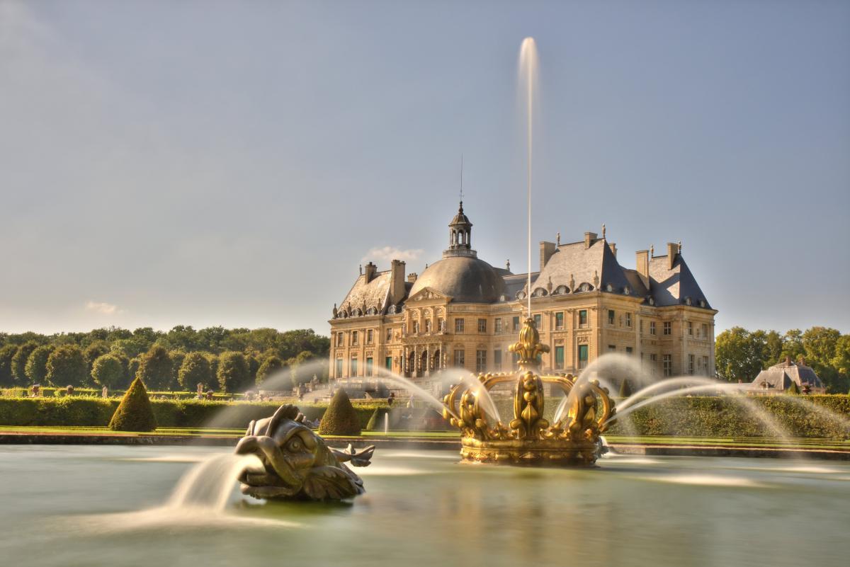 Nice Images Collection: Vaux-le-Vicomte Desktop Wallpapers