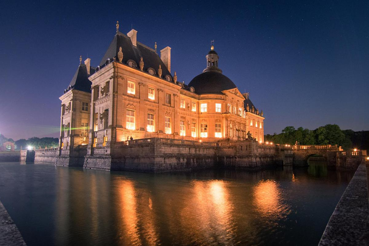 Nice Images Collection: Vaux-le-Vicomte Desktop Wallpapers