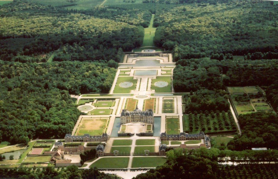 Vaux-le-Vicomte Pics, Man Made Collection