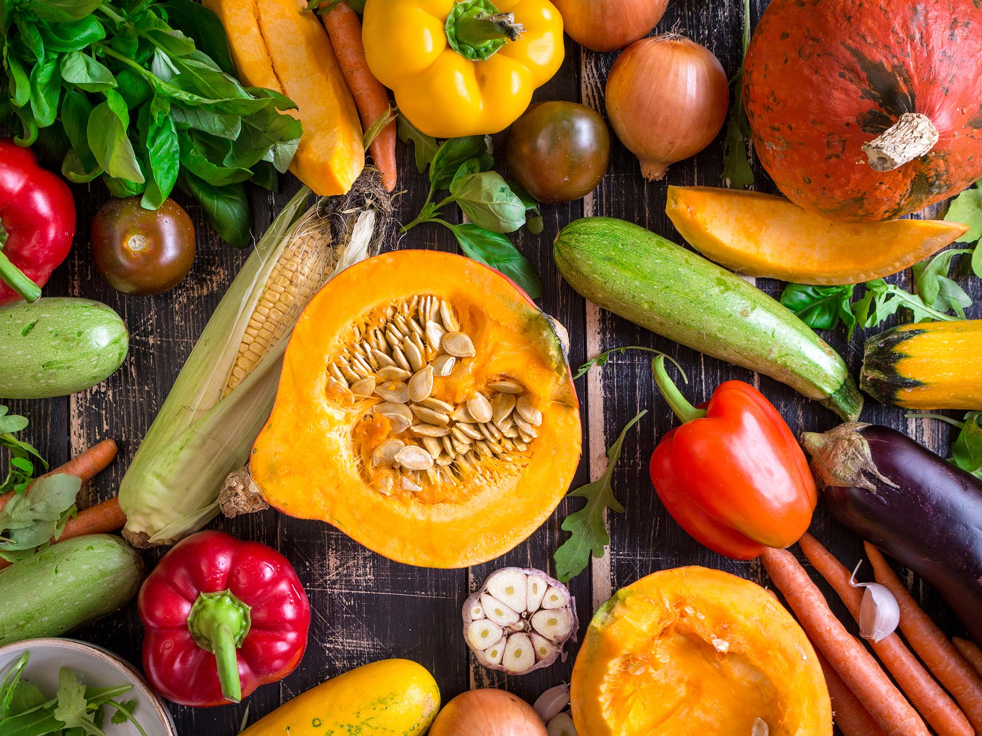 HD Quality Wallpaper | Collection: Food, 2000x1500 Vegetables