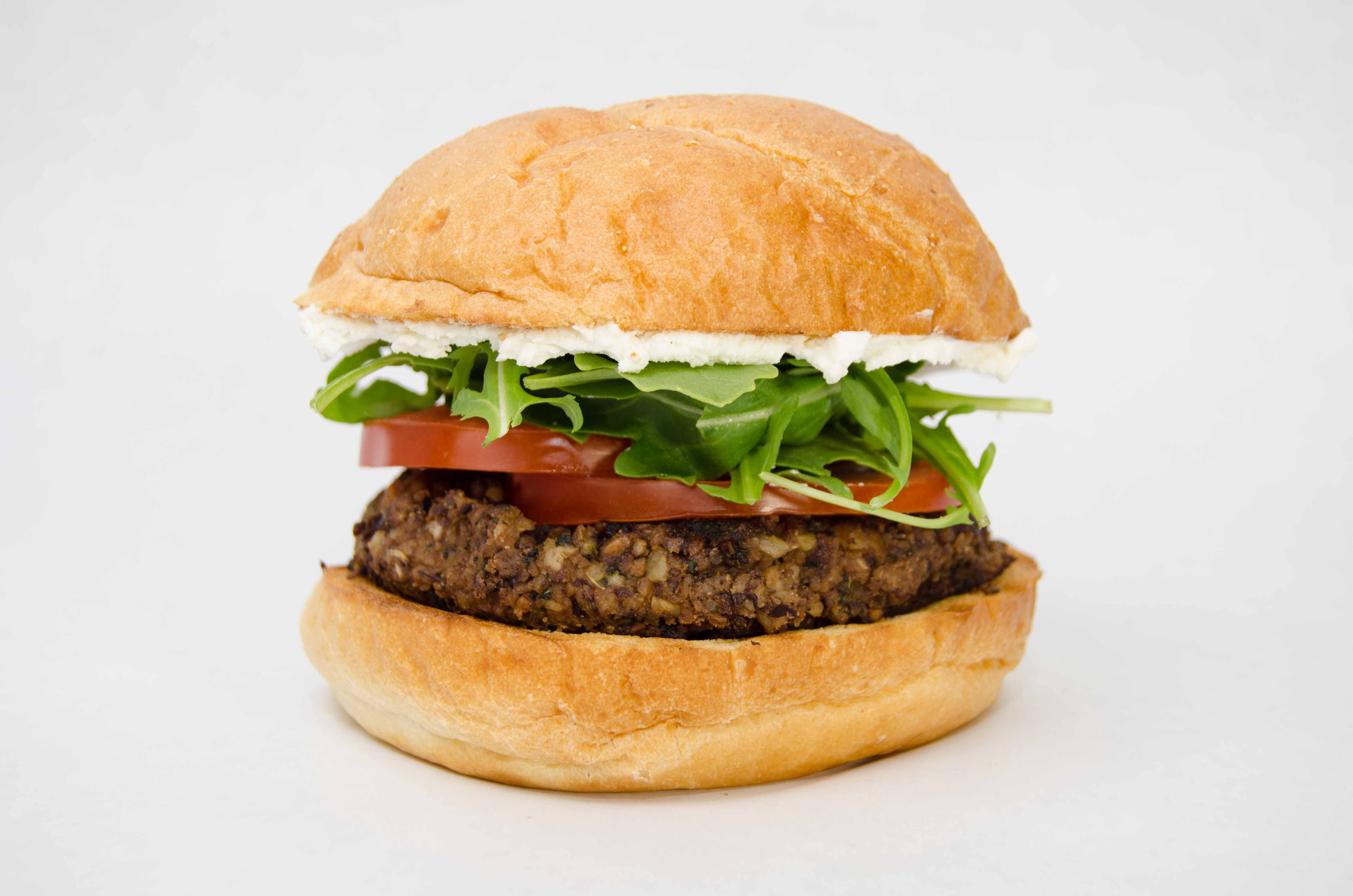 HD Quality Wallpaper | Collection: Food, 4803x3181 Veggie Burger
