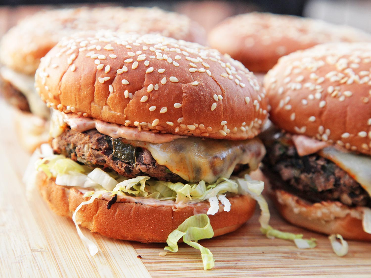 HD Quality Wallpaper | Collection: Food, 1500x1125 Veggie Burger