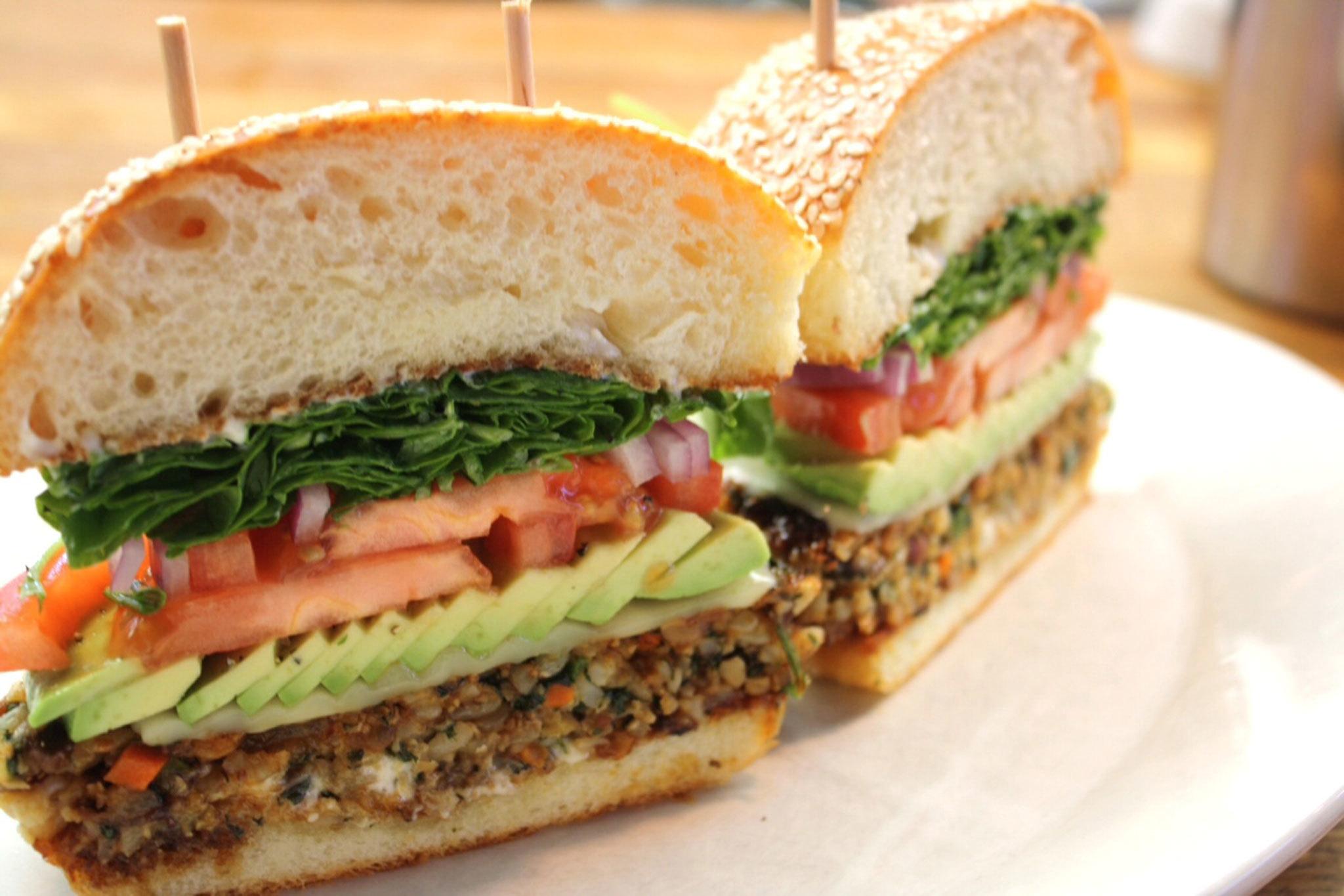 Veggie Burger Backgrounds on Wallpapers Vista