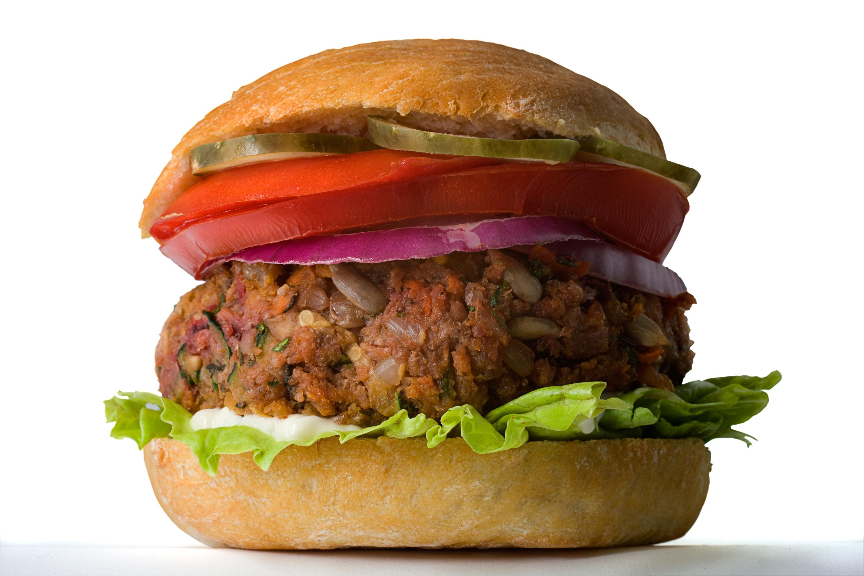 Veggie Burger High Quality Background on Wallpapers Vista