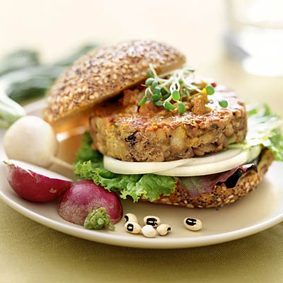 Veggie Burger Pics, Food Collection