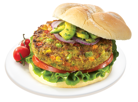 Amazing Veggie Burger Pictures & Backgrounds