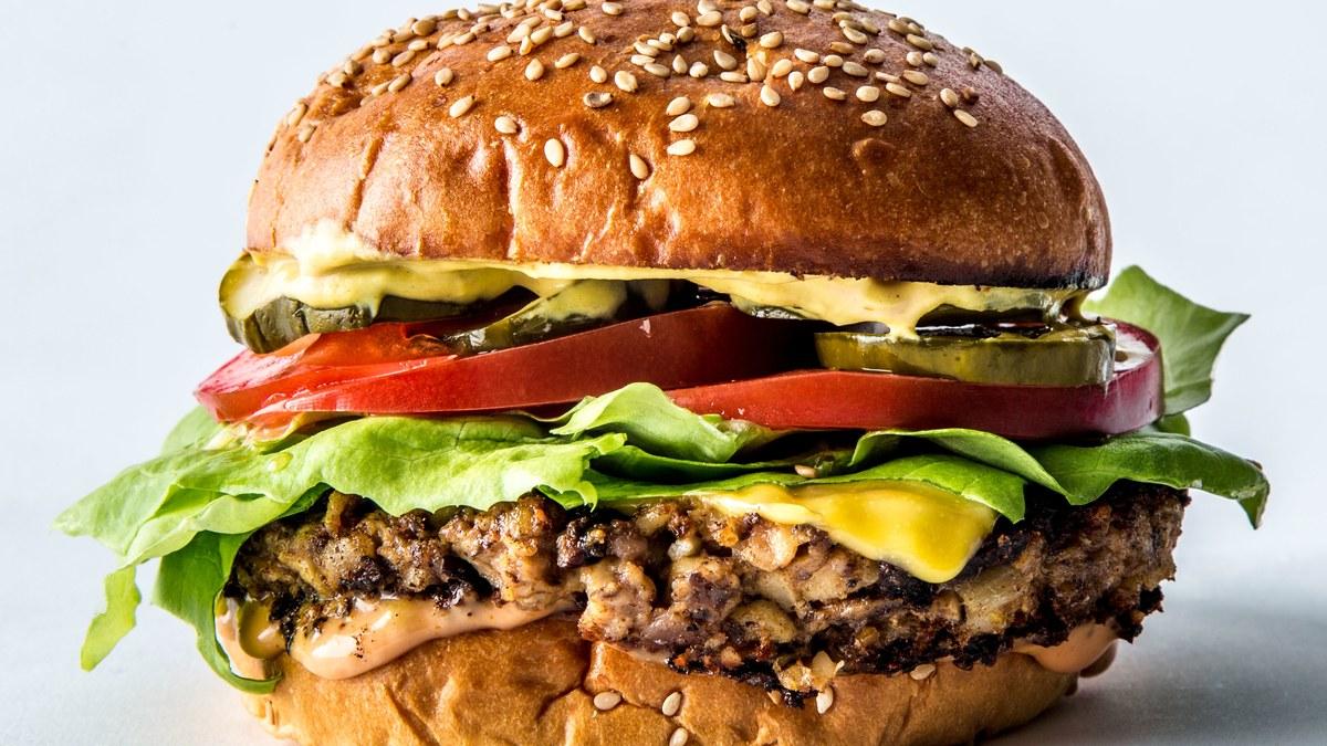 Images of Veggie Burger | 1200x675