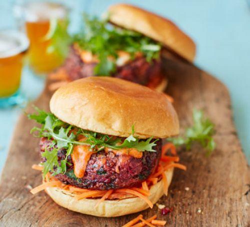 High Resolution Wallpaper | Veggie Burger 500x454 px