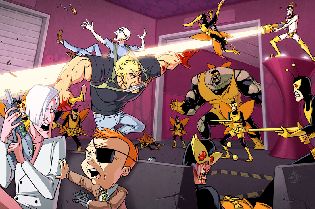 HD Quality Wallpaper | Collection: Cartoon, 1096x729 Venture Bros