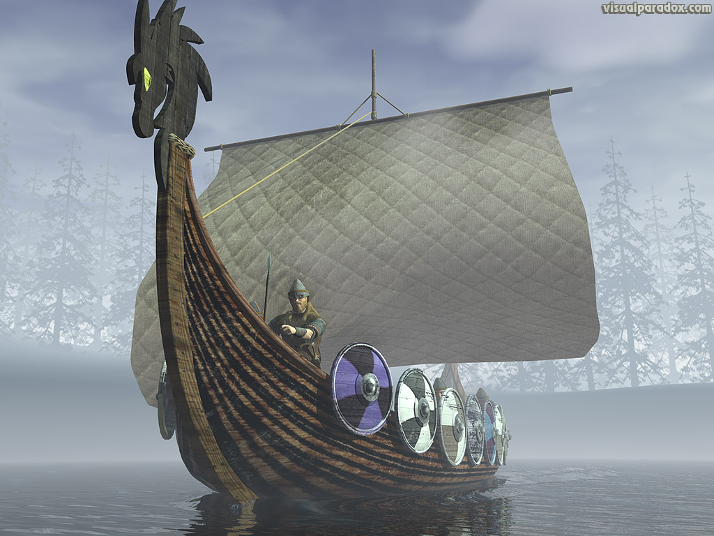 Viking Ship Backgrounds on Wallpapers Vista