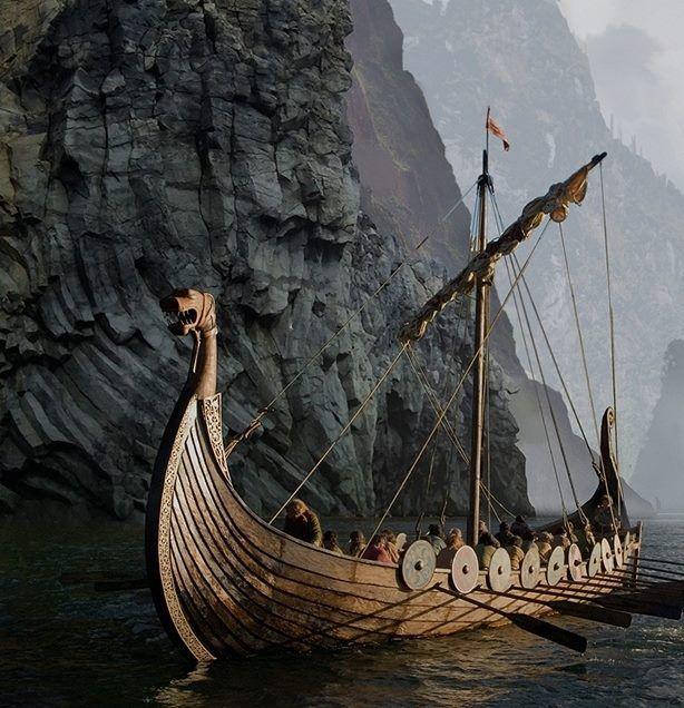 HQ Viking Ship Wallpapers | File 84.54Kb