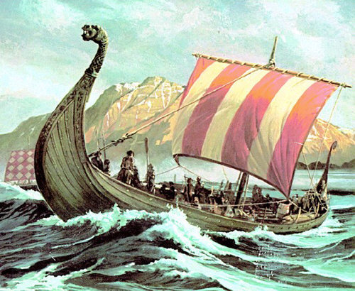 HD Quality Wallpaper | Collection: Vehicles, 500x410 Viking Ship