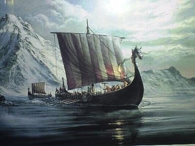 High Resolution Wallpaper | Viking Ship 400x300 px