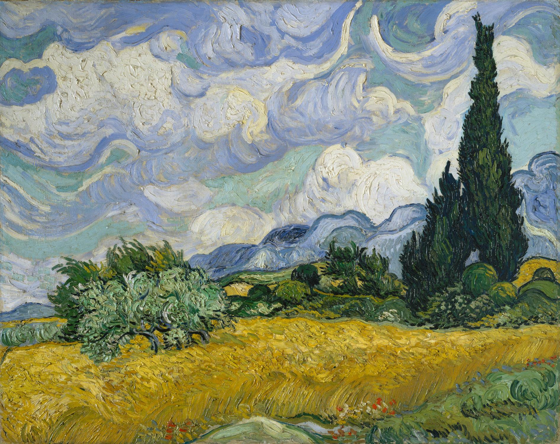 Nice wallpapers Vincent Van Gogh 1892x1500px