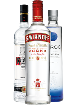 Vodka Pics, Food Collection