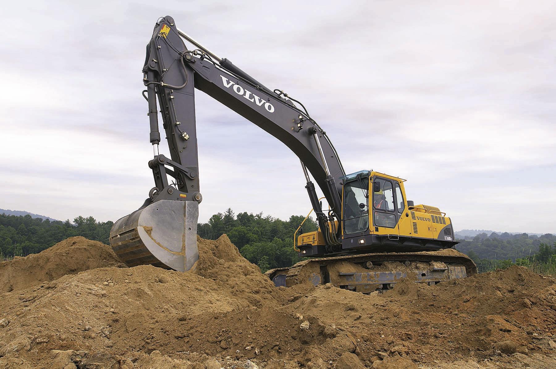 Volvo Excavator Wallpapers Vehicles HQ Volvo Excavator