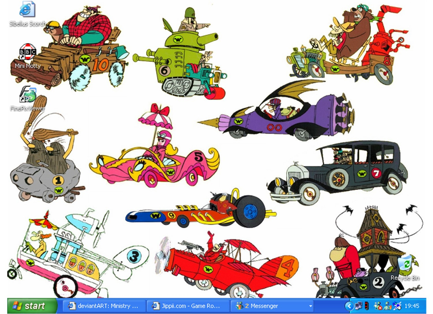 Nice Images Collection: Wacky Races Desktop Wallpapers
