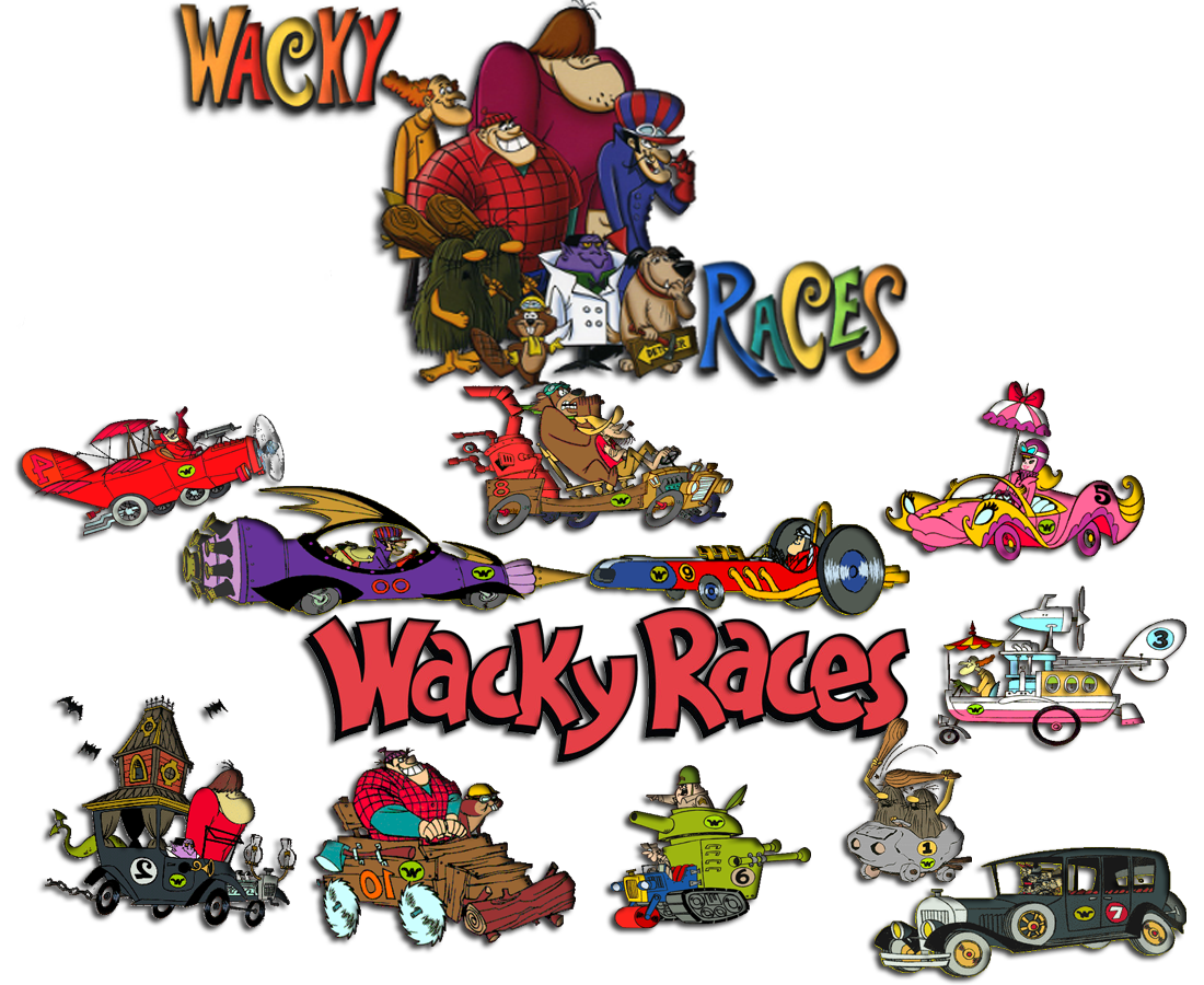 HQ Wacky Races Wallpapers | File 921.98Kb