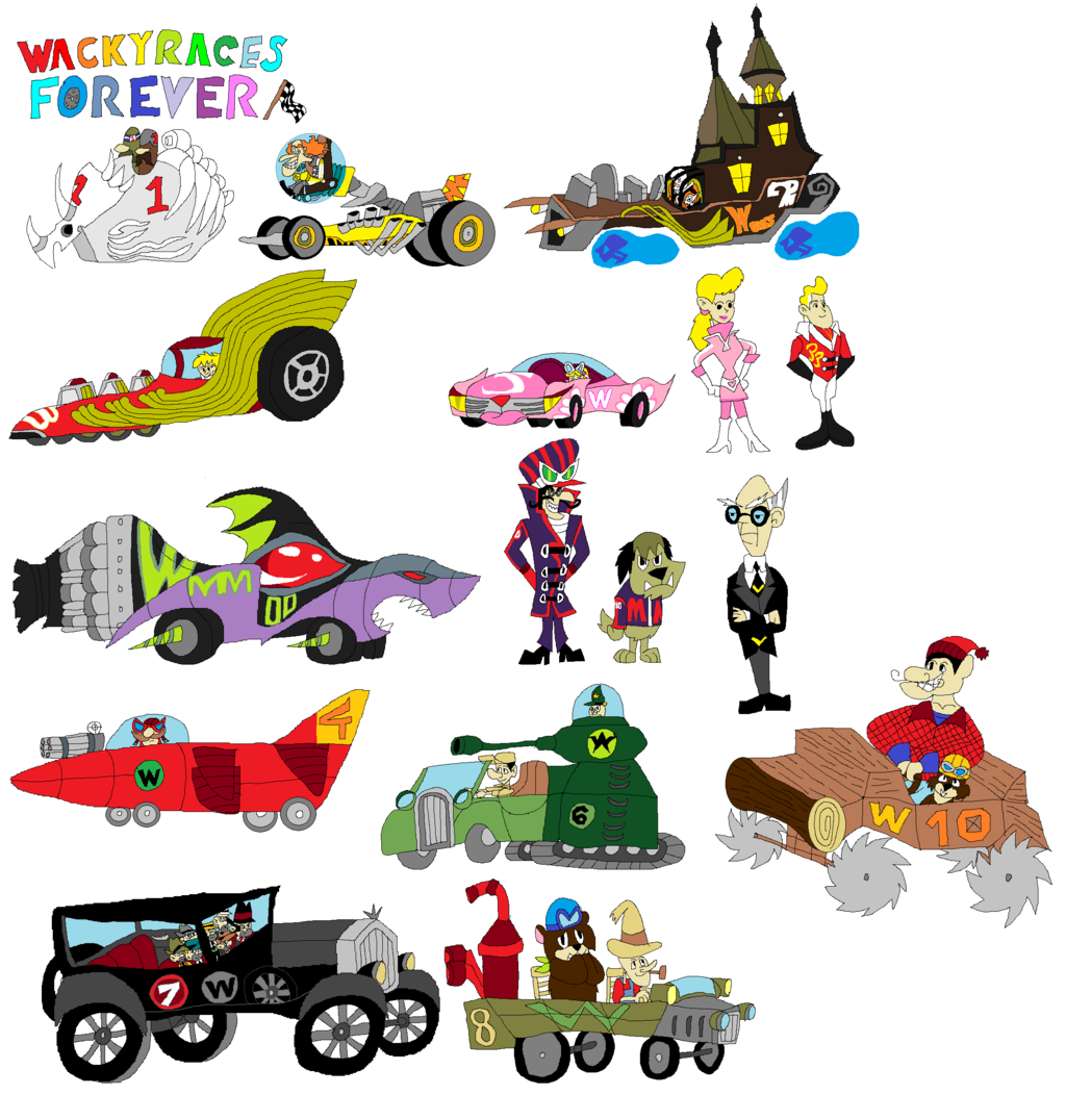 Wacky Races High Quality Background on Wallpapers Vista