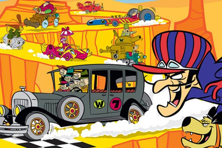 HQ Wacky Races Wallpapers | File 180.6Kb