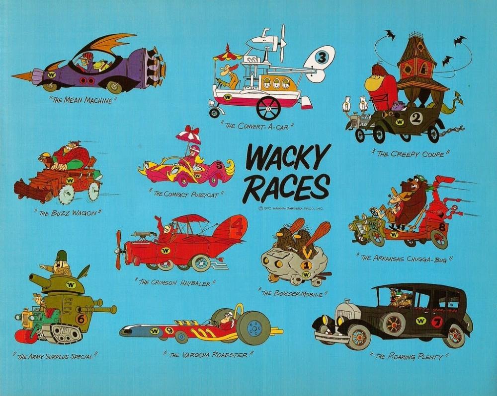 High Resolution Wallpaper | Wacky Races 1000x798 px