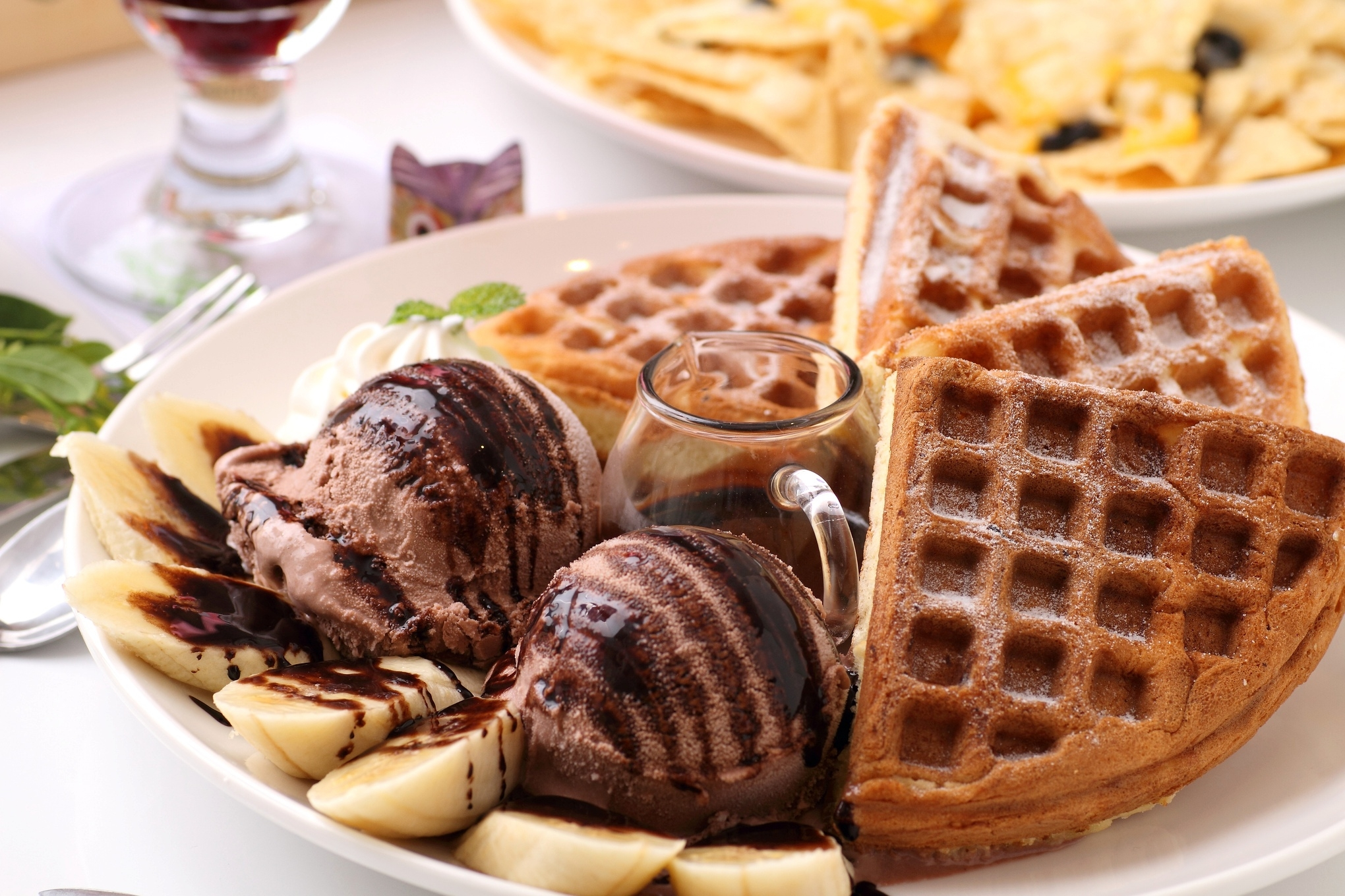 Nice Images Collection: Waffle Desktop Wallpapers