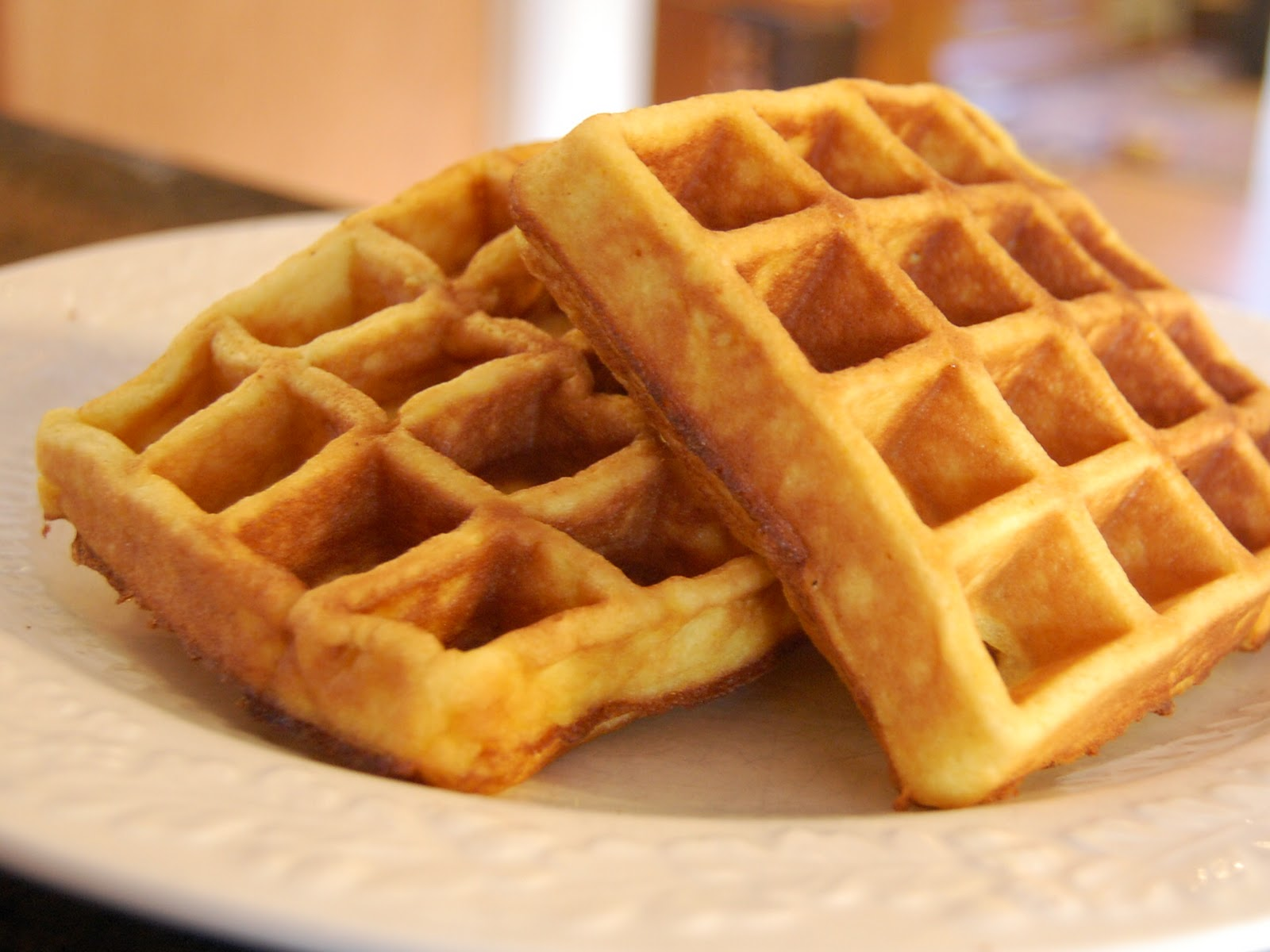 HD Quality Wallpaper | Collection: Food, 1600x1200 Waffle