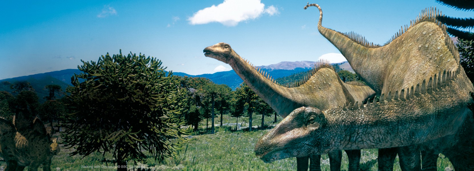 HD Quality Wallpaper | Collection: Movie, 1660x600 Walking With Dinosaurs