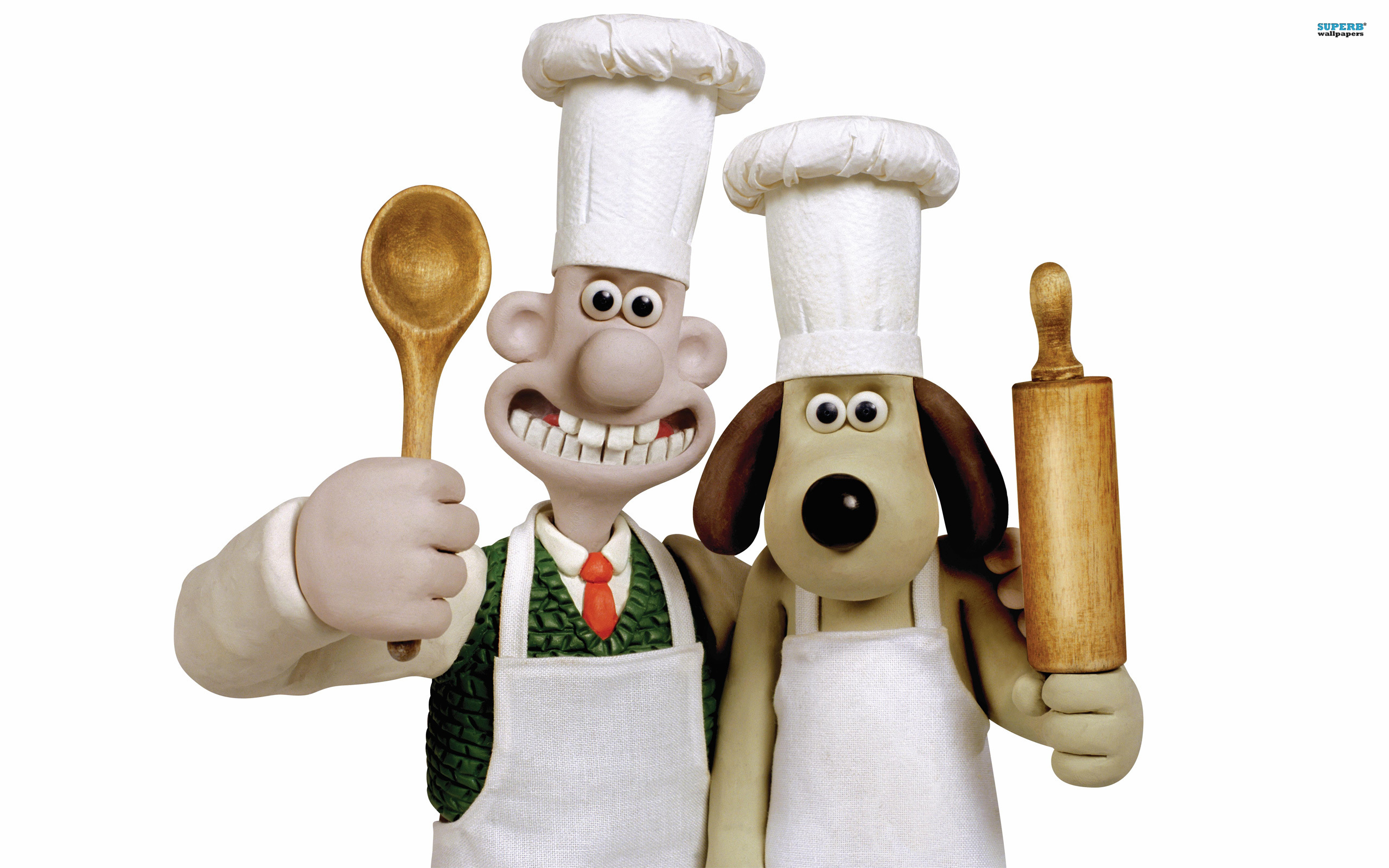 Wallace & Gromit Backgrounds, Compatible - PC, Mobile, Gadgets| 2560x1600 px