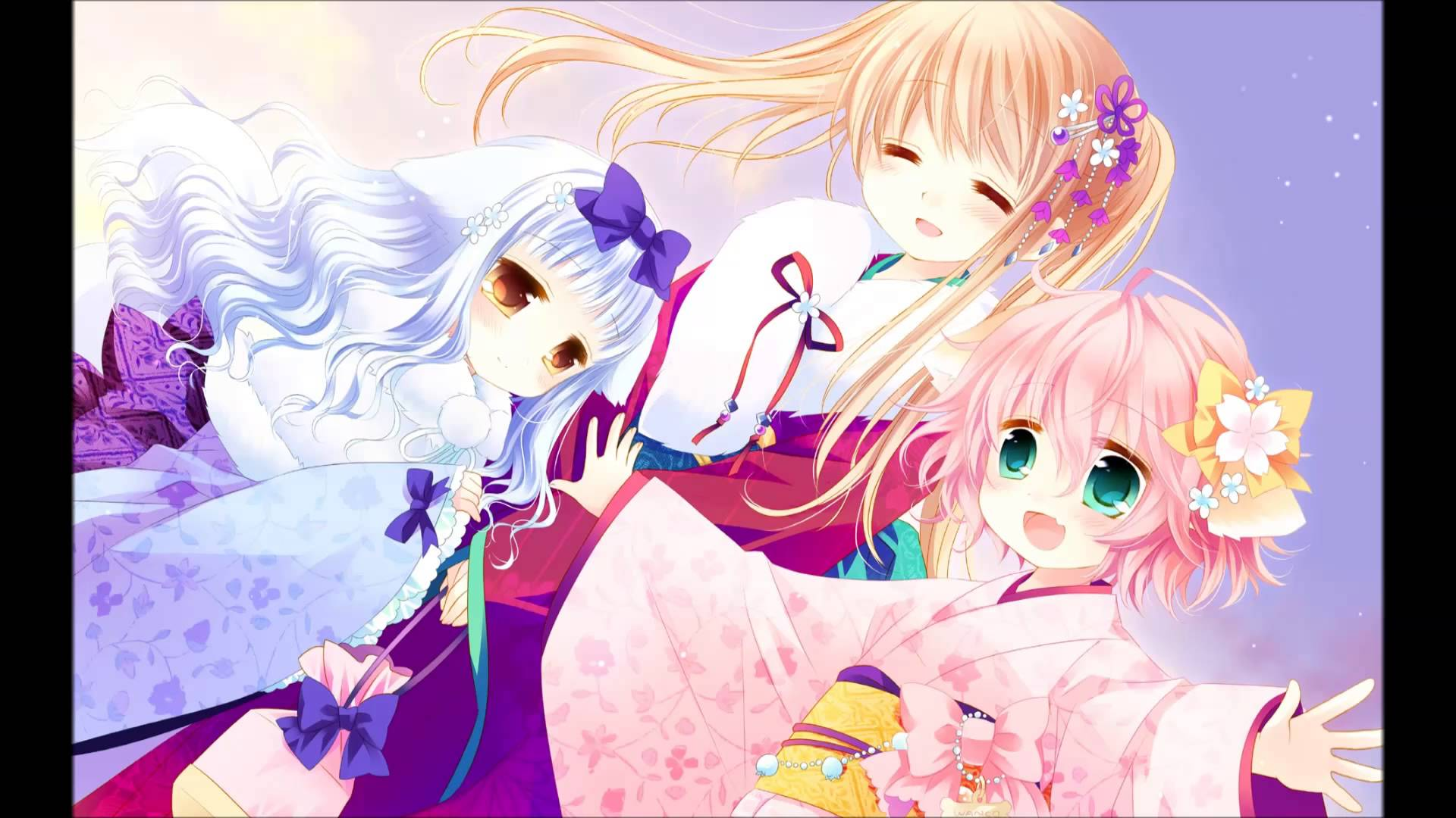Wanko To Lily Backgrounds, Compatible - PC, Mobile, Gadgets| 1920x1080 px