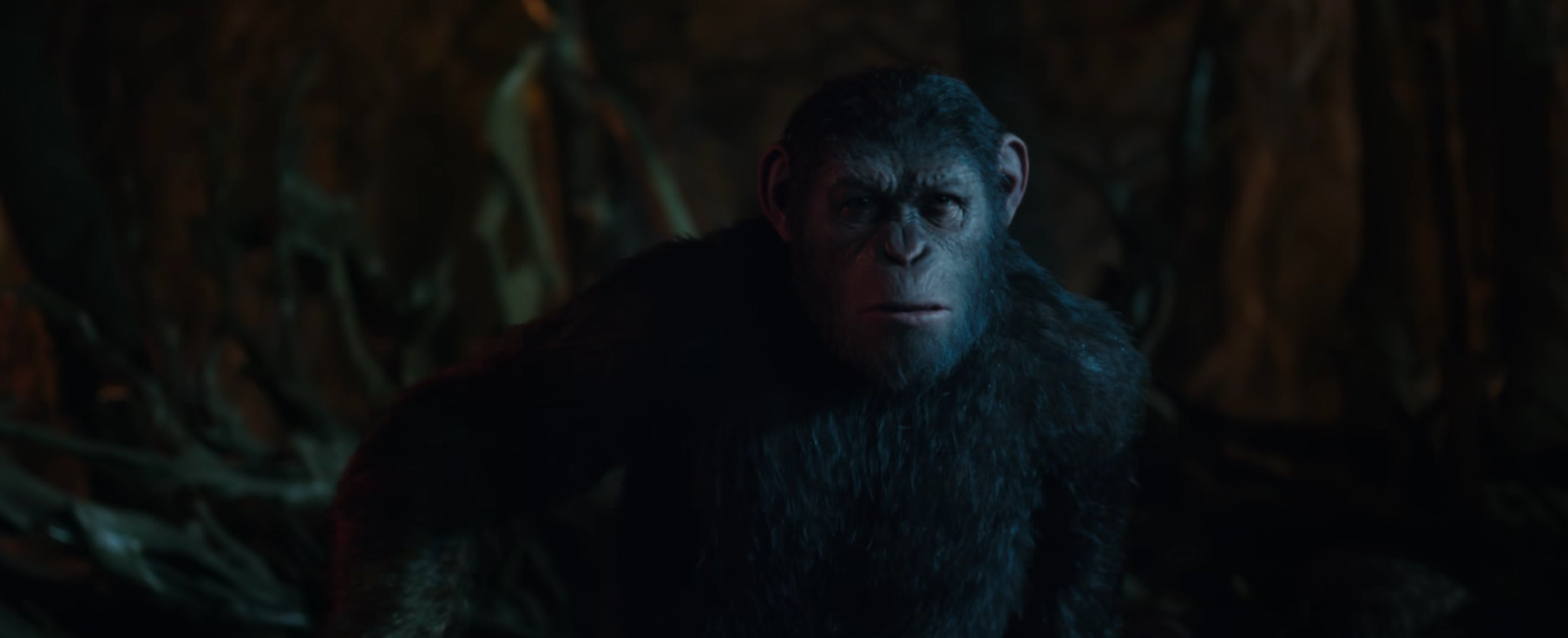 HD Quality Wallpaper | Collection: Movie, 3400x1384 War For The Planet Of The Apes