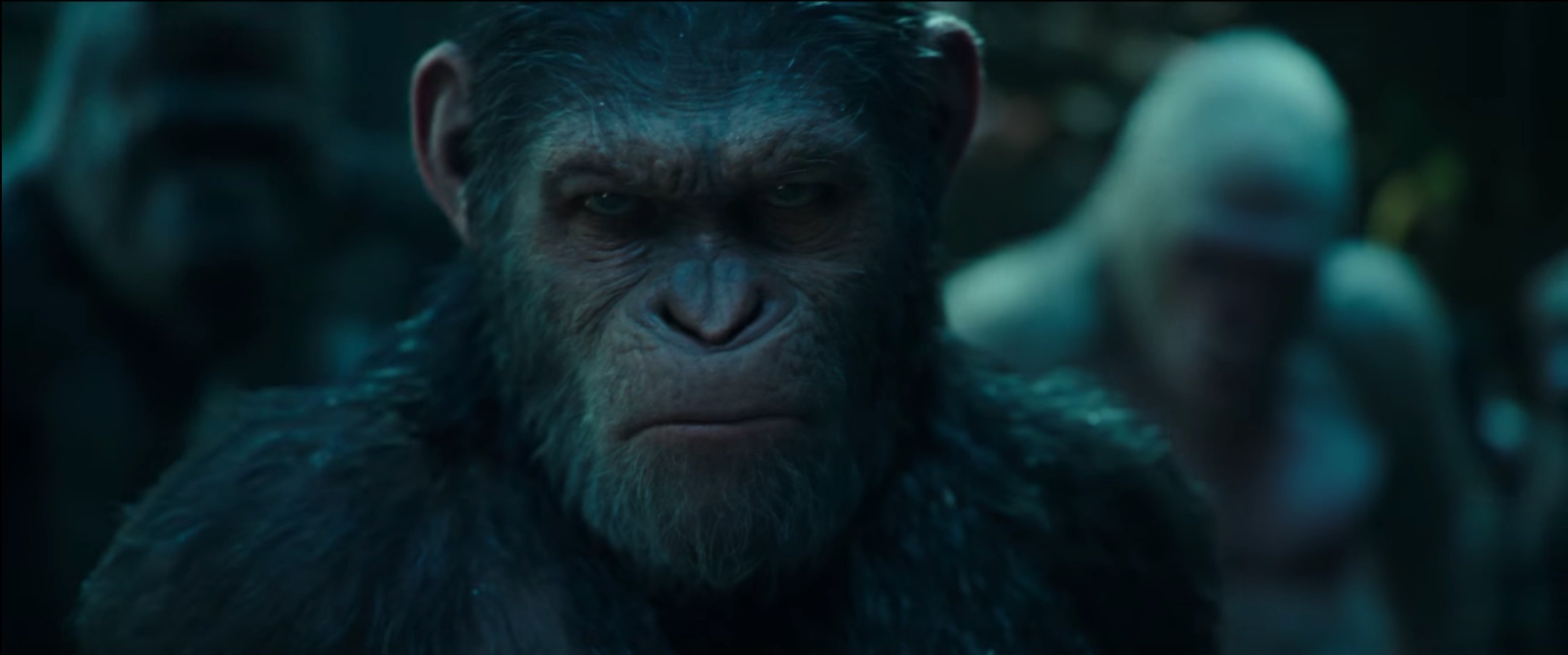 HD Quality Wallpaper | Collection: Movie, 3412x1424 War For The Planet Of The Apes