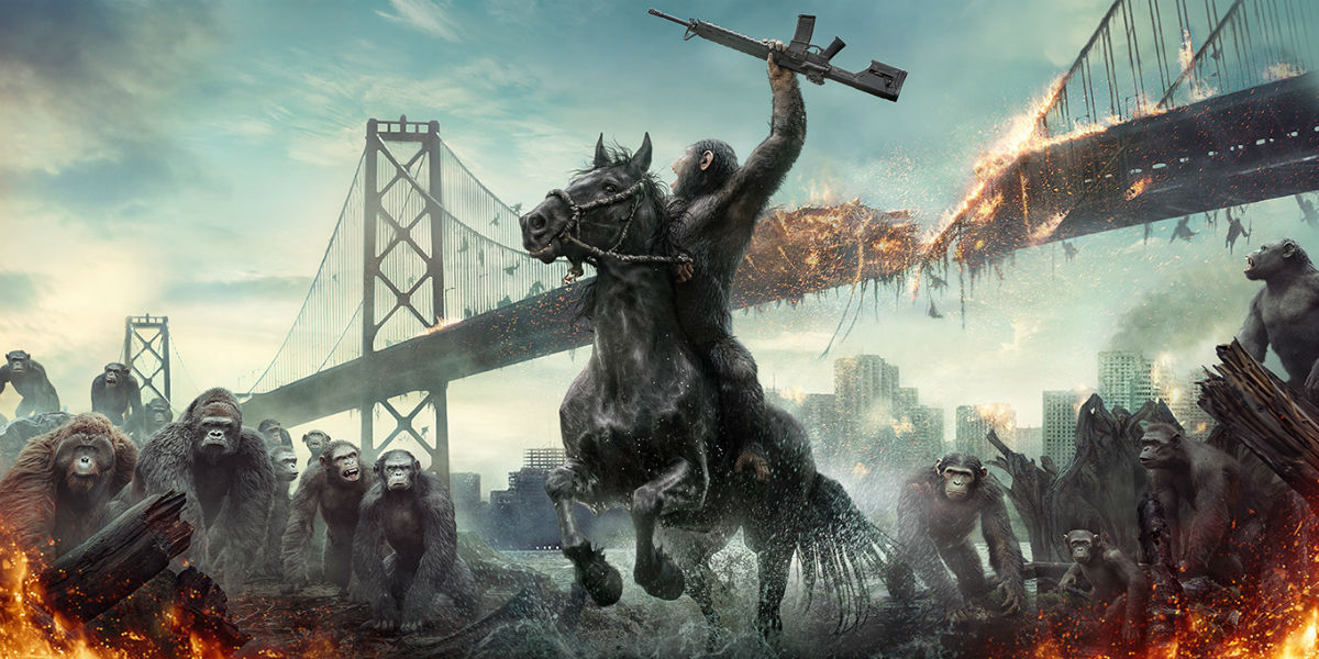 Nice Images Collection: War For The Planet Of The Apes Desktop Wallpapers