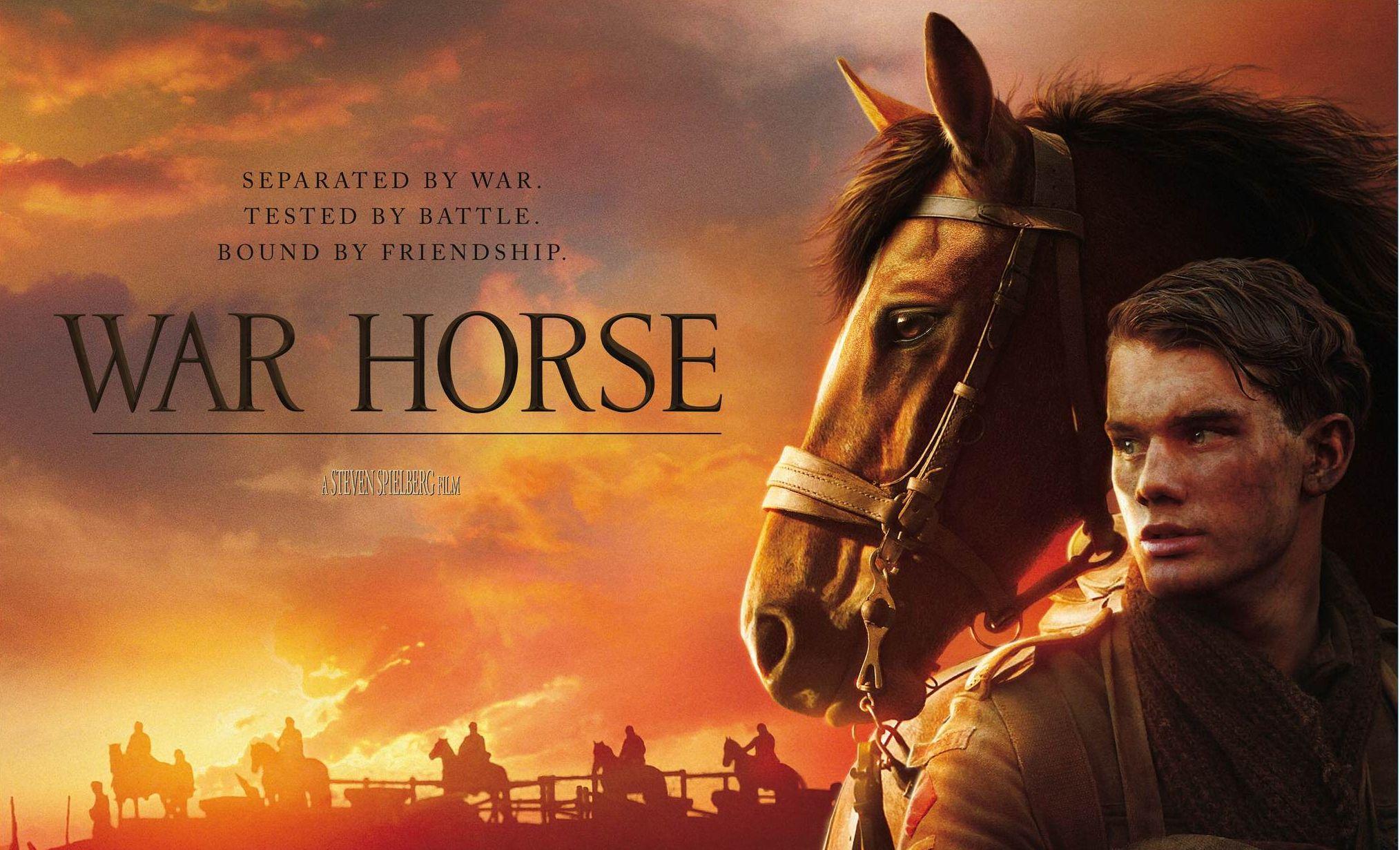 High Resolution Wallpaper | War Horse 2028x1231 px